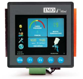 i3c mini combined hmi and plc