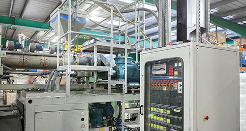 Blow moulding machine benefits from ABB motor and drive