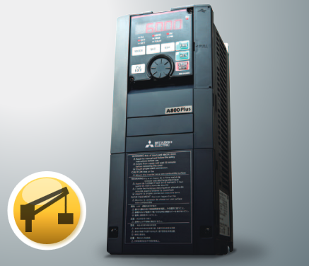 Image of Mitsubishi vibration resistant VSD for cranes FR-A800-CRN