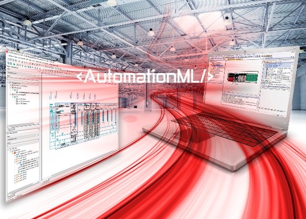 AutomationML provides consistent data exchange