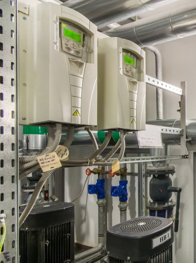 ABB drive provides its own PLC backup