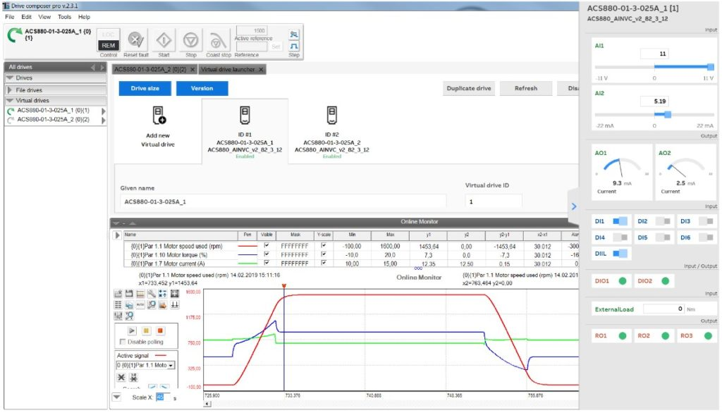 Virtual commissioning cuts project cost by 25% using ABB Drive Composer Pro