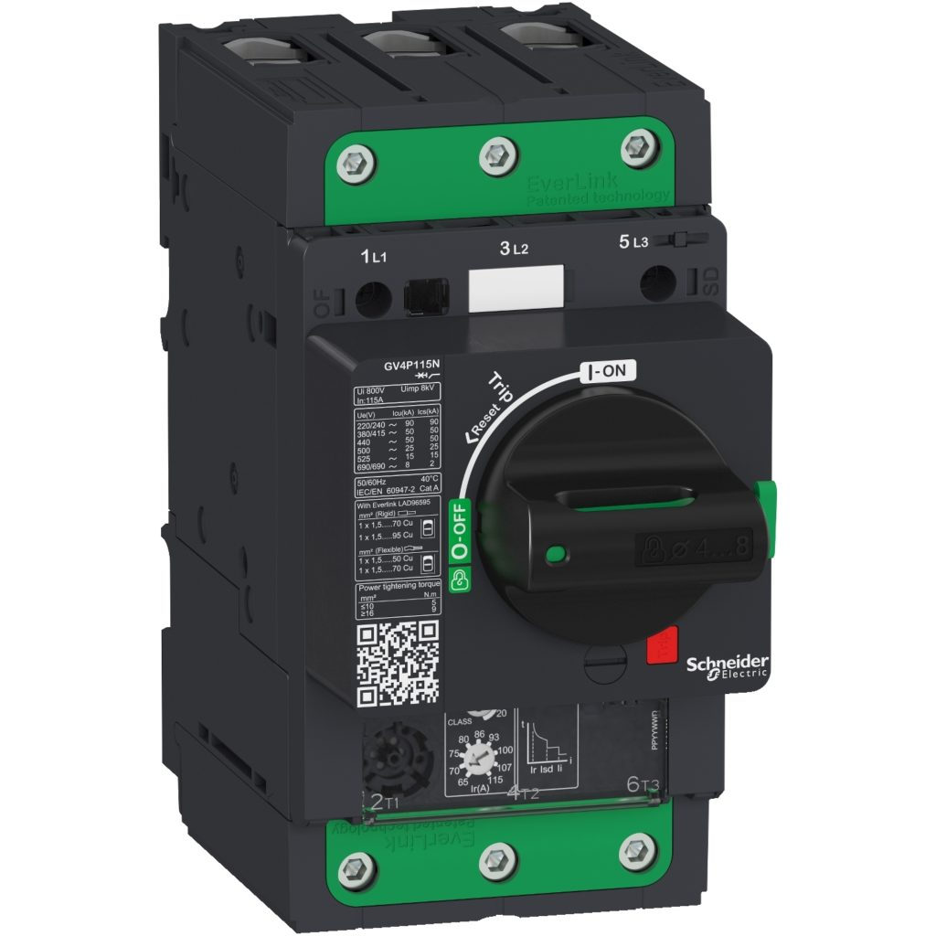 Protecting motor driven systems with the correct breaker
